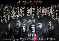 """Cradle Of Filth wystąpi w Warszawie – wyjątkowy koncert z okazji jubileuszu """"Cruelty And The Beast"""""""