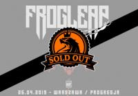 Frog Leap w Warszawie: Koncert wyprzedany