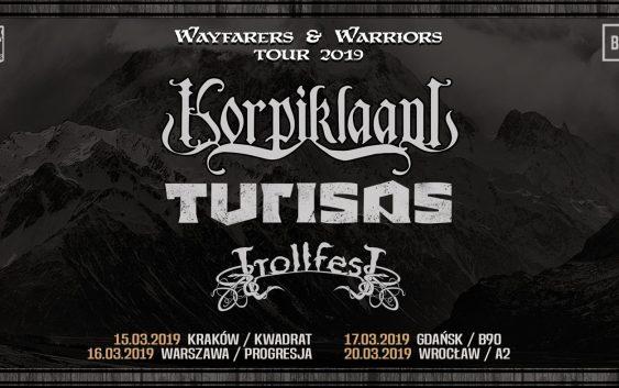Korpiklaani, Turisas, Trollfest plakat