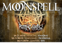 Silver Dust zagra jako support Moonspell i Rotting Christ