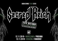 Sacred Reich wystąpi na dwóch koncertach w Polsce