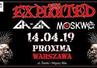 THE EXPLOITED, Ga-Ga i Moskwa w Warszawie