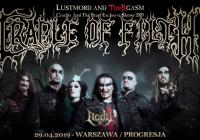 """Cradle Of Filth w Warszawie: Czasówka wyjątkowego koncertu """"Cruelty And The Beast"""""""