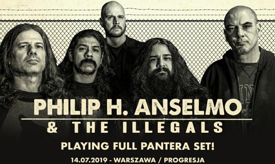 Philip Anselmo & The Illegals Pantera Set
