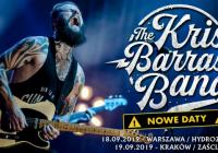 Koncerty Kris Barras Band przeniesione na wrzesień