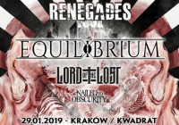 Equilibrium, Lord Of The Lost, Nailed To Obscurity w Krakowie