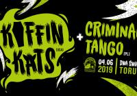 KOFFIN KATS, czyli amerykańskie psychobilly po raz pierwszy w Toruniu!