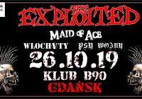 The Exploited zagrają w Gdańsku