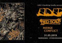 Elder, Red Scalp, Merge Conflict w Warszawie