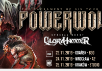Powerwolf, Gloryhammer w Gdańsku