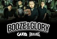 Booze & Glory, Giuda i The Analogs – 2 koncerty w Polsce