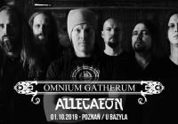 Omnium Gatherum i Allegaeon na jednym koncercie w Polsce