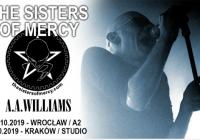 A.A. Williams wystąpi przed The Sisters Of Mercy