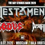 Testament, Exodus, Death Angell Koncert