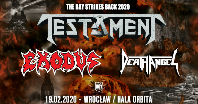 Testament, Exodus, Death Angell Koncert
