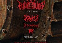 Thy Art Is Murder, Carnifex, Fit For An Autopsy, Rivers of Nihil, I AM w Warszawie