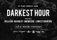 Darkest Hour, Fallujah, Bloodlet, Une Misère, Lowest Creature w Warszawie