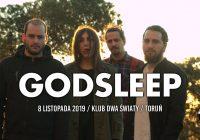 Grecki Godsleep zagra 8 listopada w Toruniu!