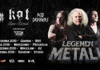Kat & Roman Kostrzewski, Acid Drinkers, Vader, Quo Vadis w Warszawie