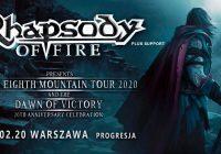 Rhapsody Of Fire na jedynym koncercie w Polsce