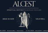 Alcest, Birds In Row, Kaelan Mikla w Krakowie