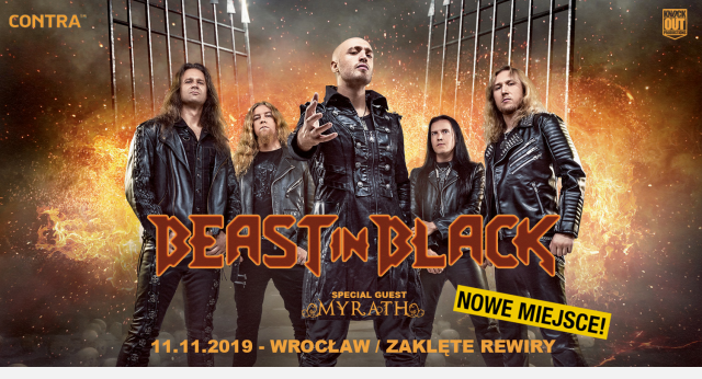 Beast In Black Wrocław