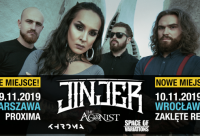 Warszawski koncert Jinjer przeniesiony do klubu Proxima