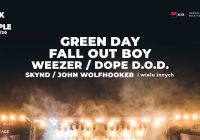 Rock For People 2020: Green Day, Fall Out Boy, Weezer i inni
