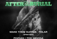 After The Burial – po 6 latach w Polsce na jedynym koncercie