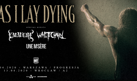 As I Lay Dying Koncerty