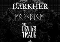 Darkher, Forndom i The Devil's Trade wystąpią w Polsce na trzech koncertach