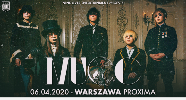 MUCC koncert Polska