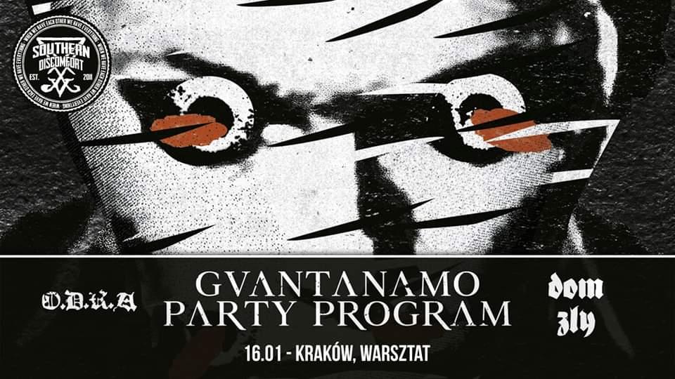Guantanamo Party Program Kraków
