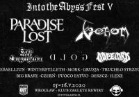 Into The Abyss Festival 2020: Plakat festiwalowy
