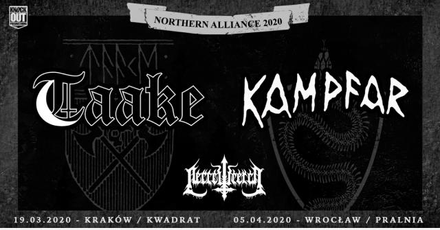 Taake, Kampfar koncerty