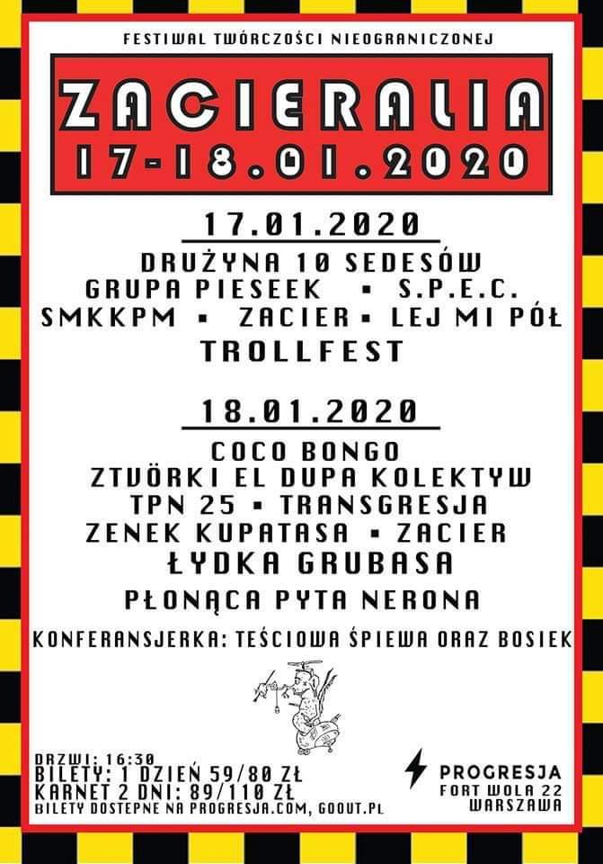 Zacieralia 2020