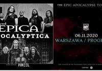 Epica i Apocalyptica na wspólnym koncercie w Polsce