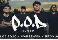 P.O.D. wystąpi w Warszawie