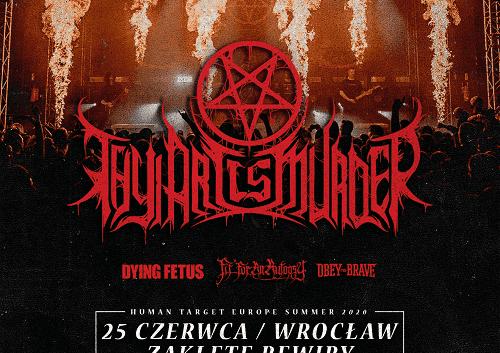 Thy Art Is Murder Wrocław