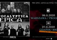 Apocalyptica i Epica w Polsce: Dodatkowy koncert w Gdańsku