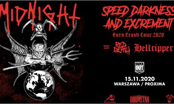 Midnight, Hellripper, Red Death Koncert