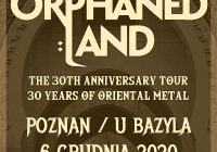 Orphaned Land zagrają w Poznaniu