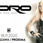 Doro Warszawa koncert