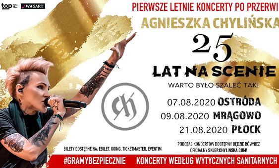 Agnieszka Chylińska - Letnia Trasa