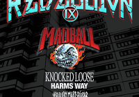 REBELLION TOUR IX: MADBALL, KNOCKED LOOSE – NOWY TERMIN