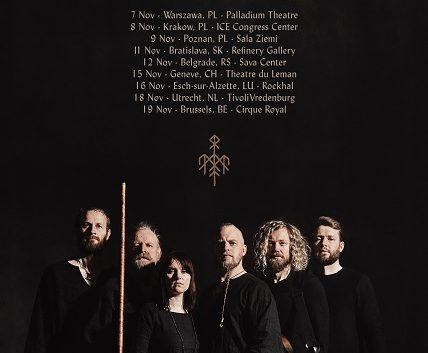 Wardruna koncert listopad