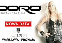Doro w Polsce: Nowy termin koncertu