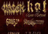 Vader, Kat & Roman Kostrzewski, Gruzja, Ragehammer w Krakowie