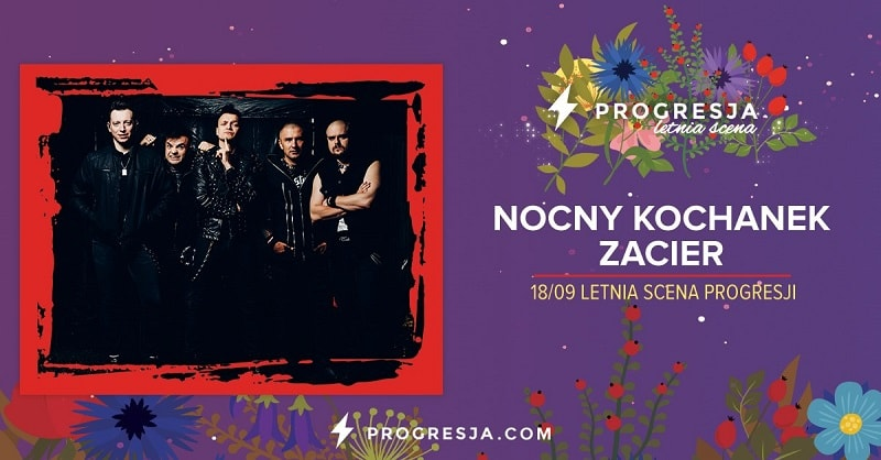 Nocny Kochanek, Zacier - Koncert Warszawa