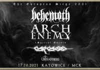 Behemoth, Arch Enemy, Carcass, Unto Others w Katowicach
